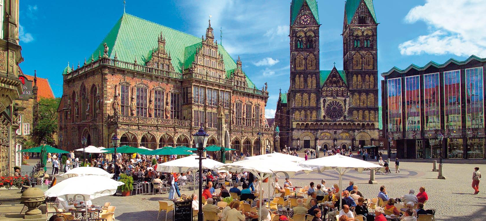 Guttetur til Bremen i Tyskland