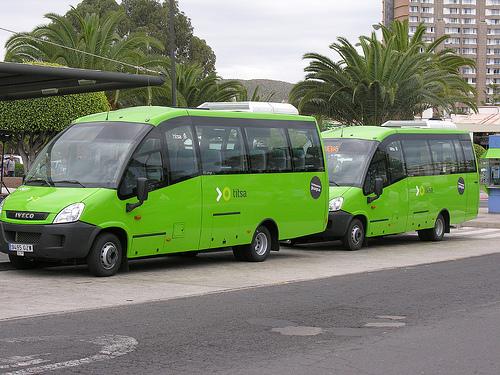 Tenerife: Kom deg rundt med buss