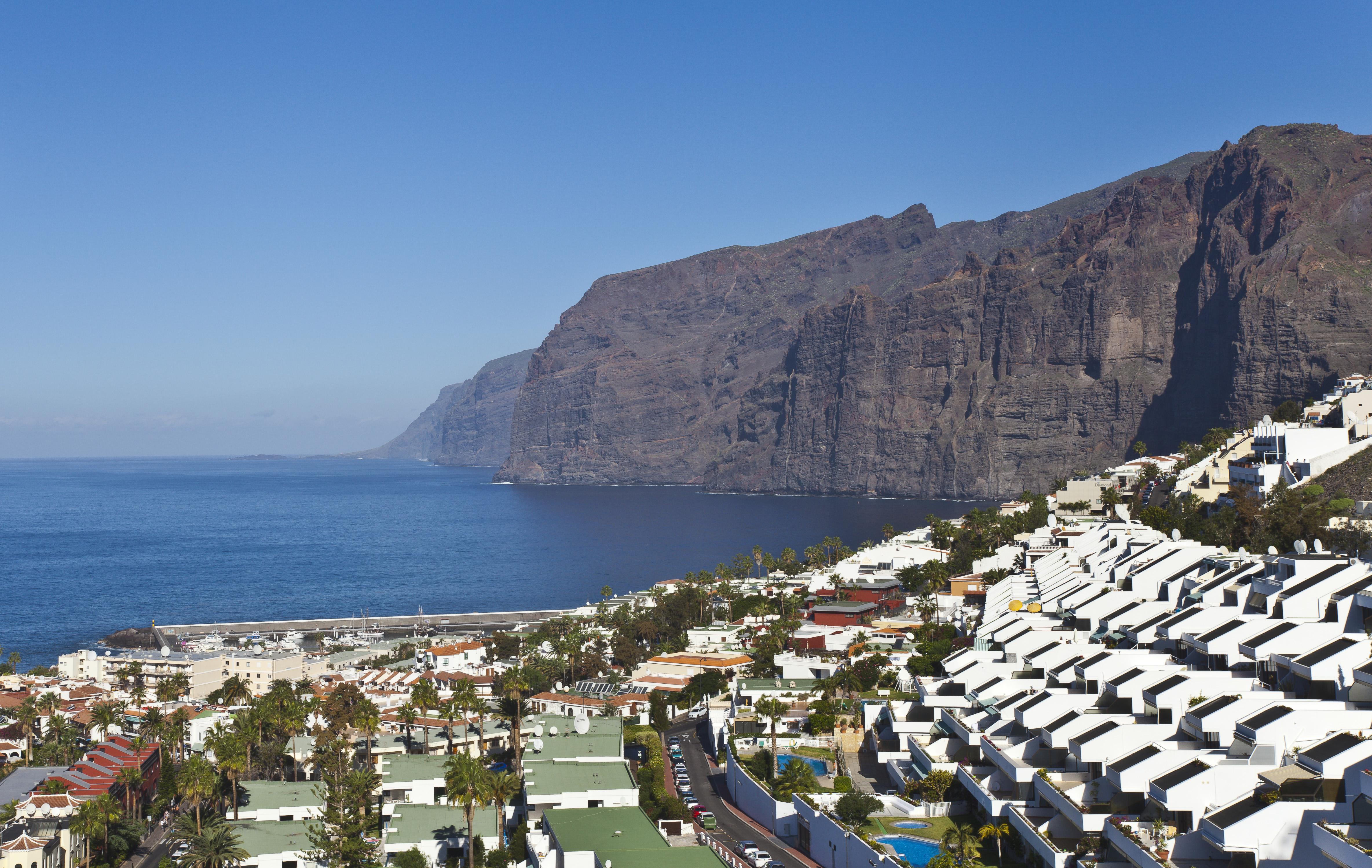 Tenerife los gigantes - Puerto de los gigantes ...